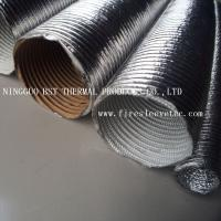 Corrugated sleeve / aluminum / thermal protective / for cables Manufactures