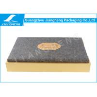Special Paper Logo Printed Cardboard Beautiful Gift Box Lid And Based For Tea Manufactures