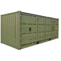 China 20ft swing door shipping container wholesale