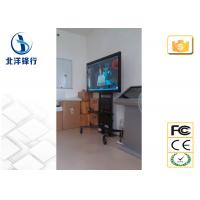 Indoor Advertising Machine Free Standing Information Poster Lcd Monitor In Mall Manufactures