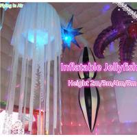 Hot Inflatable Jellyfish with Light for Party and Wedding Decoration Manufactures