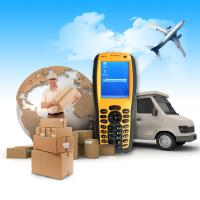 China WinCE Handheld Data Collection Terminal with 1D Laser Barcode Scanner RFID Reader on sale