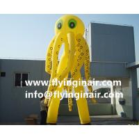 6m Oxford Jellyfish Inflatable Sky Dancer for Outdoor Advertisement and Business show Manufactures