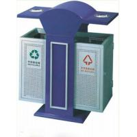 Buy cheap Stainless Steel Recycling dual rubbish bin used for Outdoor,Park,Schools,Emporium,Supermarket from wholesalers