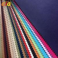 Buy cheap Flame Retardant / Waterproof  Plain / Shiny PU Synthetic Leather Width 137cm from wholesalers