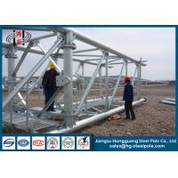 China Q345B / A572Electrial Substation Steel Structures with Standard GB / T on sale