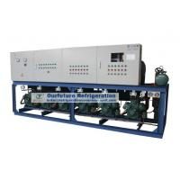 China Cold Room Compressor Unit For Seed Processing with R404a Bitzer 30HP*3 piston compressor wholesale