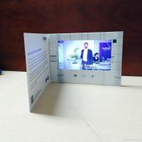 China HD 1024 X 600 LCD Video Brochure With Video Screen , Digital Greeting Cards on sale