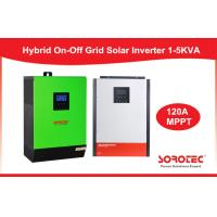 CE Solar System Inverter / Grid Tied Solar Power Inverters With Battery Pack Manufactures