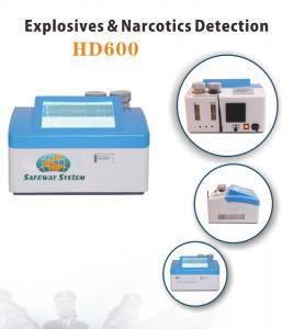 China Lightweight Hand Held Bomb Detector Machine For Black Powder Identify HD600 wholesale