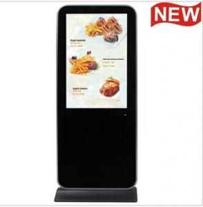 Bank / Airport Video Audio POP LCD Display , 10 Inch Advertising Display Monitor