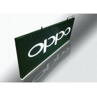 China Hanging Light Box Signs, Lighted Outdoor Signs With Cutout Illuminated Letter on sale