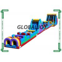 China 40m Long Inflatable Beast Obstacle Course / Giant Inflatable Outdoor Playground wholesale