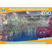 Large Bubble Football Bubble TPU / PVC Plastic Bumper Soccer For Rolling Ball Manufactures