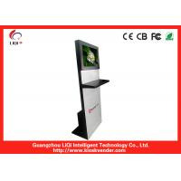 Intelligent Indoor Information Kiosk Self-service With Waterproof Keyboard Manufactures