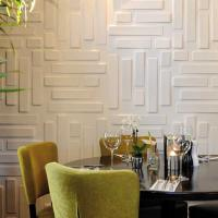 Hotel Interior 3D Decorative Wall Panels Manufactures