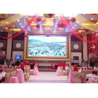 Buy cheap Single Dot Color And Brightness Indoor Advertising LED Display P1.8mm For Banquet from wholesalers