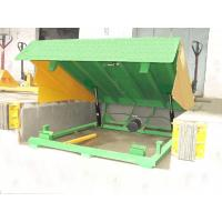 China 6000kg hydraulic dock ramp with 0.5m Lifting height for logistics , warehouse on sale