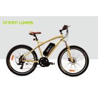 China 7 Speed Electric Powered Mountain Bike 32Km / H Mid Gear Motor 800 Times Recycle Battery wholesale