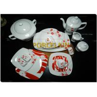 Easy To Clean Thanksgiving Dinnerware Sets Acid-Resistant  European Standard