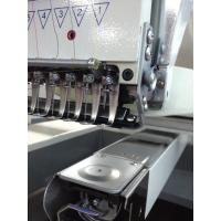 China Touch panel home embroidery machine , computerised 1 head embroidery machine wholesale