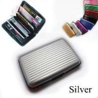 China Indestructable Aluminum Wallet Credit Card Holder wholesale