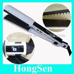 China 2014 Hot selling WET OR DRY intertek heater flat iron hair straightener on sale