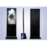 "LCD high quality 55"" floor stand remote control kiosk Manufactures"