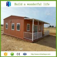 China low cost luxury cheap prefab a frame movable house modern kits designs for kenya on sale