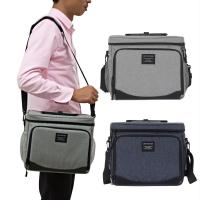 China Professional Design Insulated 12 Can Lunch Food Catering Delivery Insulation Bag Cheap Extra Small Insulin Cooler Bag on sale