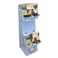 Promotional paper display stand for P&G Manufactures
