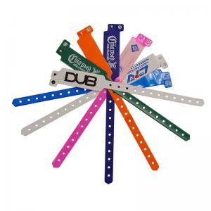 China PVC Rfid Nfc Tag Wristband For One Time Custom Hospital Wristbands on sale