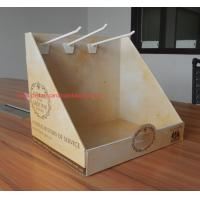 Portable retail counter display CMYK color printing pop countertop displays Waterproof Manufactures