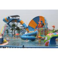 Aqua Park Water Park Project With Tornado Water Slide / Water House / Lazy River Manufactures