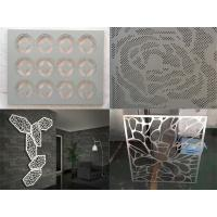 Metal aluminum decorative engraved perforated panel Manufactures