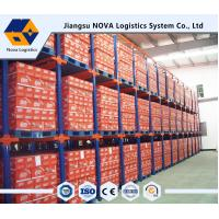 Double Entry Powder Coating Drive In Pallet Racking For Raw Materials