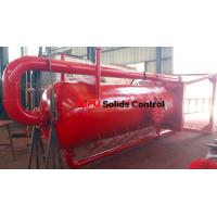 Buy cheap Aipu solids control APMGS mud gas separator for sale used in fluids system from wholesalers