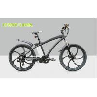 China Mens Electric Mountain Bikes 26 Inch Wheel 36V 250W Magnesium Alloy rim wholesale