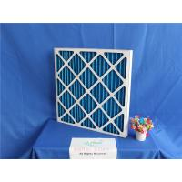 China Reusable Primary Ac Air Filter Panel Synthetic Filter Media Low Intial Resistance on sale