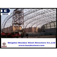 China GB50205-2001 Steel Structure Warehouse With Anti-Corrosion Coating on sale