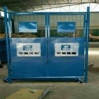 China Construction Site Lift Door on sale