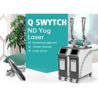 China Q-Switch ND Yag Laser Tattoo Removal Skin Care Beauty Equipment on sale