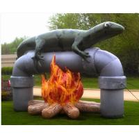 Amazing Design Inflatable Advertising Products Air Lizard Fire Resistant Manufactures