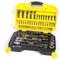 108 Piece Socket Wrench Set Emergency Tool Kit , Car Repairing Gand Tool Set for Home Manufactures