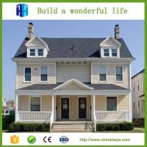 China fiberglass prefabricated aluminium structure villa house price in algeria on sale