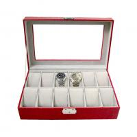 Black Men Double PU leather jewelry watches boxes,Display Box OEM orders are welcome Manufactures