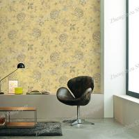 PVC free Non-woven Plant Korea Wallpaper for home decoration Manufactures