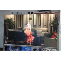 High Brightness Transparent holographic rear projection film 1524 x 3000mm Manufactures