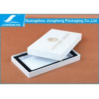 Quality iPhone Case Packaging White Cardboard Gift Boxes Coated Paper Golden Debossed Logo for sale