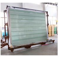 Laminated Glass Panels / Tempered Safety Glass with Printed Stripes or Dots Manufactures